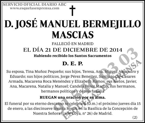 José Manuel Bermejillo Mascias